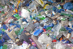 Plastic waste Royalty Free Stock Image