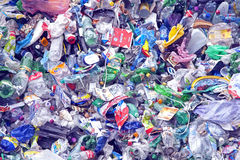 Plastic waste Stock Image