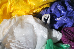Plastic waste Royalty Free Stock Photo