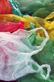 Plastic waste separation Stock Photos