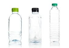 Plastic water bottle isolate Royalty Free Stock Images