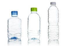 Plastic water bottle isolate Royalty Free Stock Photo