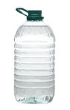 Plastic water bottle isolated Stock Photography