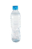Plastic water bottle. On the white background Royalty Free Stock Photo