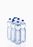 Plastic water bottle. Water bottle,  on white background, plastic, bottle with drinking water Stock Photo