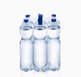 Plastic water bottle. Water bottle,  on white background, plastic, bottle with drinking water Royalty Free Stock Images