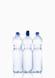 Plastic water bottle. Water bottle,  on white background, plastic, bottle with drinking water Royalty Free Stock Photo