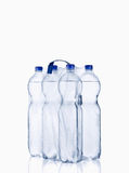 Plastic water bottle. Water bottle,  on white background, plastic, bottle with drinking water Royalty Free Stock Photography