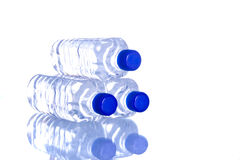 Plastic water bottles Stock Image
