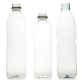 Plastic water bottles Stock Photos