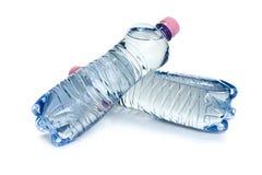 Plastic water bottles Stock Image