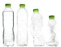Plastic water bottles Royalty Free Stock Photography