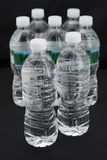 Plastic Water Bottles Stock Images