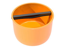 Plastic water container Stock Image