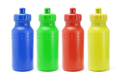 Plastic water containers Stock Images