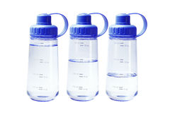 Plastic Water Containers Royalty Free Stock Photos