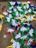Plastic water gun Royalty Free Stock Images