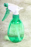Plastic water spray. Royalty Free Stock Photo