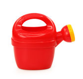 Plastic watering can Stock Photos