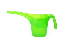 Plastic watering pot Royalty Free Stock Photos
