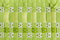 Plastic weave Royalty Free Stock Photo