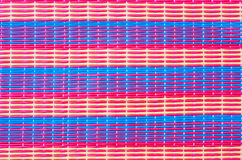 Plastic weave background Stock Photo