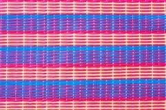Plastic weave background Stock Photo