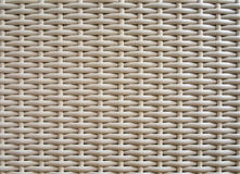 Plastic weave. Close up Plastic weave furniture Royalty Free Stock Photo