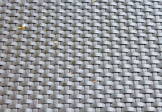 Plastic weave fabric pattern Royalty Free Stock Images