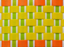Plastic weave pattern Royalty Free Stock Photo