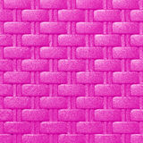 Plastic weave pattern texture and background Stock Image