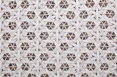 Plastic weefselpatroon Stock Afbeeldingen