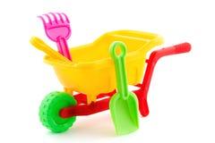 Free Plastic Wheel Barrow Toy Stock Images - 35844354