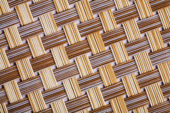 Plastic wicker texture very close up view Royalty Free Stock Photo
