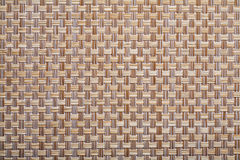 Plastic wicker woven texture background close up Stock Photography