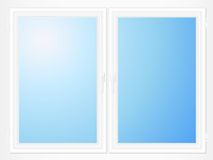 Plastic window Royalty Free Stock Images