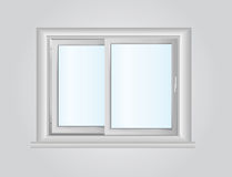 Plastic window Royalty Free Stock Photos