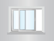 Plastic window Royalty Free Stock Image