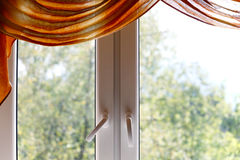 Plastic window Stock Photography