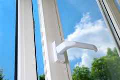 Plastic window Stock Image