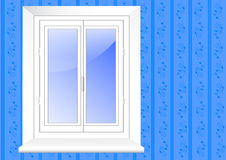 Plastic window. vector 10eps. Royalty Free Stock Photos