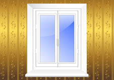 Plastic window. vector 10eps. Royalty Free Stock Photography