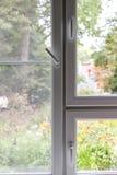 Plastic window vertically stock photography