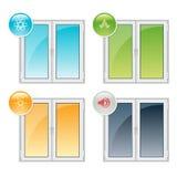Plastic Windows Royalty Free Stock Photo