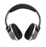 Plastic wireless headphones Royalty Free Stock Images