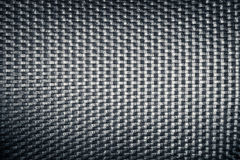 Plastic woven wicker pattern, black color background texture Stock Photos