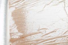Plastic wrap texture Stock Image