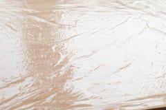 Plastic wrap texture Stock Photography