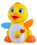 Plastic yellow duck Stock Photos
