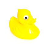 Plastic yellow duck toy Stock Photography